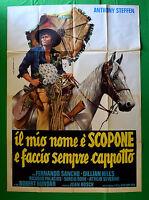 M23 Manifesto 4F Die Meine Name E' Scopone E Mache Immer Mantel Anthony Steffen