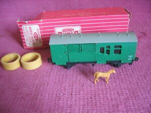 Hornby Dublo OO Gauge 4316 Horse Box (SR) with Horse - 2 / 3 Rail - Boxed