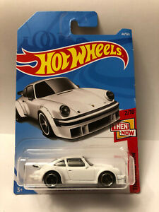 HOT WHEELS WHITE PORSCHE 934 TURBO RSR THEN AND NOW 2/10 44/365