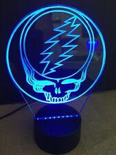 Grateful Dead Led Neon Light Sign Man Cave , Game Room ,Bar , garage Rgb Remote