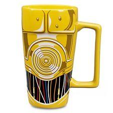 Disney C-3PO - Star Wars Mug Coffee Cup Tall Latte 16 oz. Ceramic - NIB