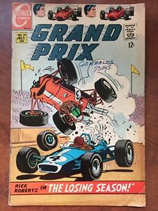 Grand Prix #20 Charlton Comics 1968