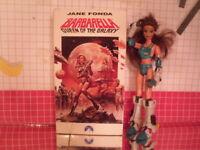 Barbarella Queen of the Galaxy sci-fi VHS Jane Fonda 1968 Movie
