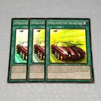 3x Yugioh sdws-en002 Evocator Chevalier súper rara tarjeta