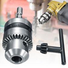 1-10mm Drill Chuck Driver Converter 3/8'' 24UNF & 1/4'' Hex Shank Key Adaptor