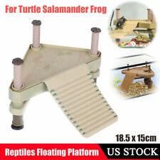Aquarium Reptile Frog Turtle Pier Bask Terrace Floating Platform Fish Tank Decor