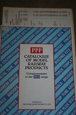 Railway Catalogue - PPP Catalogue of Model Railway Products with 92 Price List