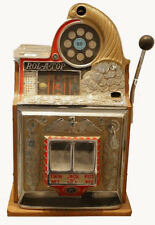 Vintage Watling 25c Rol-A-Top reproduction Slot Machine coin operated