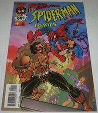 SPIDER-MAN COMICS #1 ANIMATED TV SHOW (Marvel 1995) KRAVEN (FN/VF) RARE