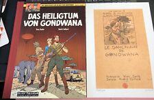 """ABENTEUER VON BLAKE UND MORTIMER VZA HC  Bd. 15 """"Heiligtum v. Gondwana"""" ,SALLECK"""