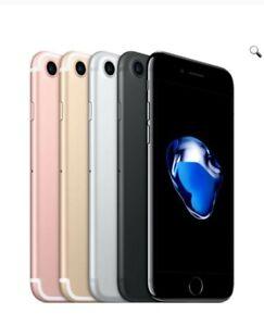 Apple iPhone 7 32GB 128GB 256GB iOS Smartphone 4G LTE - A Plus (Grade) Pristine