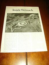 1984 PORSCHE - INSIDE WEISSACH  ***ORIGINAL ARTICLE***