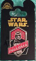 Disney DLR Star Wars The Force Awakens Captain Phasma Pin MOC ~ NEW ~ Ships Fast