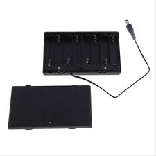 Battery Box Slot Holder Case for 8 Packs Aa 2A Battery Batteries Stack F √Jh