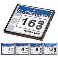 Carte Mémoire Compact Flash Cf 4GB 8GB 16GB 32GB Pour Numérique Caméra Portable