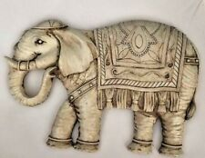 latex mould for making Beautiful elephant plaque