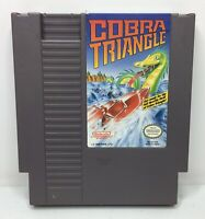 Nintendo NES Cobra Triangle Video Game Cartridge *Authentic/Cleaned/Tested*