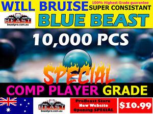 10,000 GEL balls PRO GRADE M4A1 WILL BRUISE HARD BLUE 7-8mm GEL BALL GUN AMMO💥