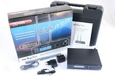 IMG Stage Line TXS-606 Multi Frequenz Mikrofon Empfänger Receiver Monacor 253510