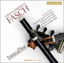 Johann Friedrich Fasch: Orchestral Music  CD NEW