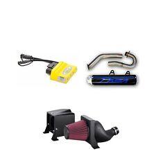 DASA Full Exhaust Blue Black + Vortex CDI + Fuel Customs w/Air Box YFZ450R 450R