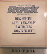 The History Of Rock Vinyl LP G/f Sleeve Vol 8 Aretha Franklin Otis Redding Ex+