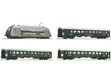 Roco 61452 Zugset Elektrolok EL 18 mit Personenwagen 3x NSB Digital Sound H0