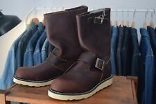 Botas Red Wing Shoes Engineer 2970 marrón. Talla USA 8,UK 7, EUR 41. Dead stock