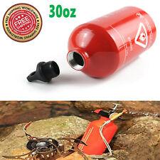 30oz / 1 Liter Gas Oil Fuel Bottle Motorcycle Emergency Petrol Gasoline Canister