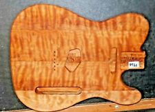 TELECASTER Guitarra Cuerpo - Luthier 5A Llama N Spalted Arce Madera / Traje 9966