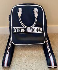 * Nuevo * Steve Madden Negro Mochila y bolso de hombro unisex de 11 X 9.5 X 5.5