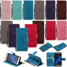 YPKT2 Leather Case Cover For Samsung Galaxy A3 A5 G530 J120 J3 J5 J7 Prime S6 S7