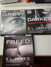 3 Stck Hörbücher 50 Shades of Grey von Christian selbst erzählt