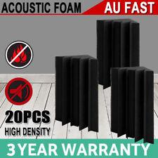 20 x Studio Acoustic Foam Corner Bass Trap Sound Absorption Treatment Proofing
