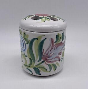 Ceramic Handmade Toothbrush Holder Made In Italy