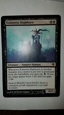 1x WOTC MtG Worldwake Kalastria Highborn black rare x1