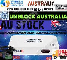 UNBLOCK TECH TV BOX 7 安博盒子 UPROS 澳大利亚第7代 海外华人国内最强中文最火电视盒子 授权经销商 中港台頻道 (国际越狱版)现货