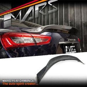 ASPEC Style Carbon Trunk Spoiler Lip Wing for Maserati Ghibli M157 14-20 BodyKit
