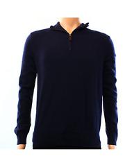 Polo Ralph Lauren 1/4 Zip Merino Wool Sweater Mens Hunter Navy 6709 S