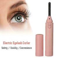 Elecool Electric Eyelash Curler Portable Pen Heated Curle lash Lasting Eye I8T0