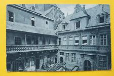 AK Mainz 1925 Hof König von England Architektur Karren Laubengang Fenster ++ RP5