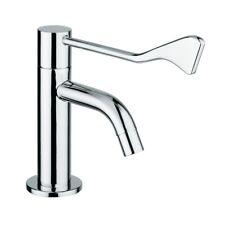 Hygiene kaltwasser Armatur mit langem Hebel f. Waschbecken - Ellenbogenbedienung