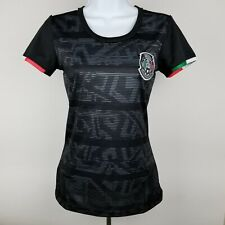 Mexico Soccer Team Women's Black Jersey