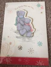 Me To You Tatty Teddy mamá y mi papá 3D tarjeta de Navidad con envolvente