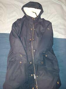 Joules Navy Waterproof Winter Coat 16