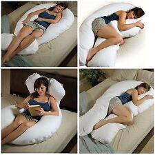 12 FT Big C-U Forma Full Body & Back Supporto Maternità Gravidanza Cuscino Comfort