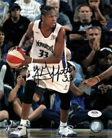 Yolanda Griffith Signed 8x10 photo WNBA PSA/DNA Autographed