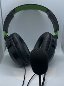 Turtle Beach Ear Force Recon 50X Stereo Gaming Headset - Black Green - Wired