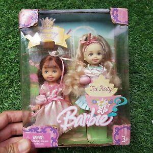 NRFB New Barbie KELLY FANTASY TALES TEA PARTY  original Mattel