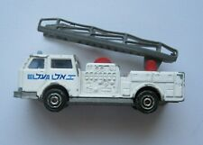 Vintage El Al Israel Airlines Pompier Fire Truck Metal Car Toy